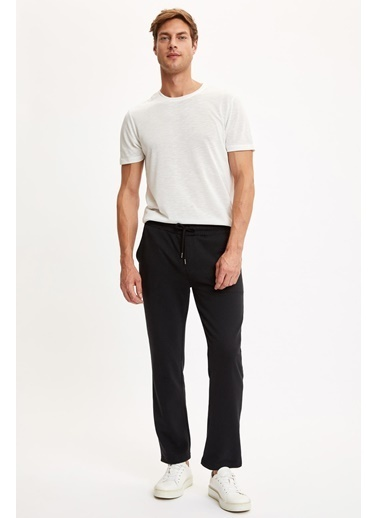 DeFacto Slim Fit Basic Eşofman Altı Siyah